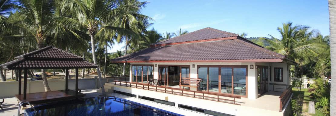 Lipanoi beachfront villa, Koh Samui