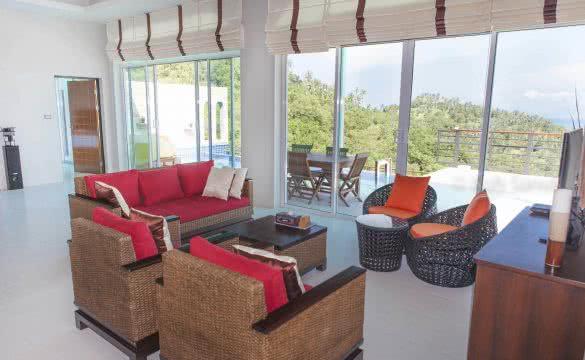 Maenam Mountain villa